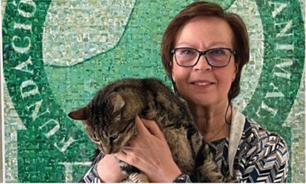 Nuestra presidenta, Anni Platzbecker, entrevistada por nuestro 20 aniversario